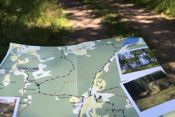 Karta med natur 11